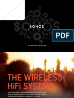 Brochure Sonos