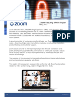 Zoom Security White Paper