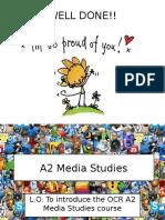L1 A2 Media Studies Intro