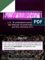 L3 Postmodernism
