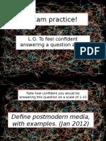 L15 Postmodernism Essay WRO