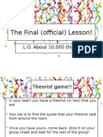 L30 the Final (Official) Lesson!