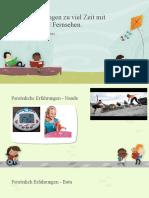 Präsentation Deutschkurs