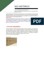 Patrimonio Histórico del peru