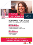 Flyer Réunions publiques