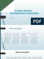 Tugas Pemetaan Badan Pertanahan Nasional Ppt