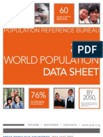 Population Reference Bureau (PRB).