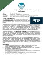 Atlanta Fulton County Pre-Arrest Diversion - Care Navigation Supervisor