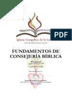 Manual Consejeria - Pr. David Barcelo