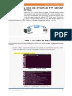 Cara Install Dan Konfigurasi Ftp Server Di Ubuntu
