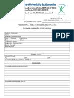 Ficha de Avaliaçao de Orto