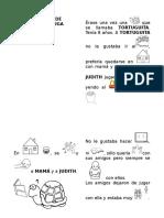 HISTORIA de Tortuguita Con Pictogramas