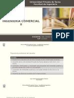 SESION DE CLASES N° 01 INGENIERIA COMERCIAL II 2016-II