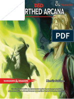 D&D 5E - Unearthed Arcana - Heróis Góticos - Biblioteca Élfica