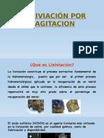 Lixiviación Por Agitación - Mineria