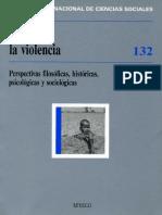 Pensar la violencia. Perspectivas filososficas, historicas... - Revista.pdf