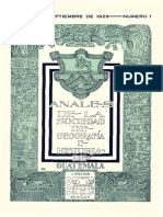 Anales AGHG Tomo VI Año V No 1 Septiembre 1929