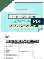 Unidad de Aprendizaje- Curriculo Nacional