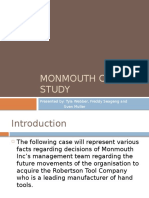 Momouth Case Study Presentation