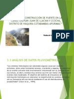 EXPOSICION HIDROLOGIA - SEGUN NORMAS PERUANAS