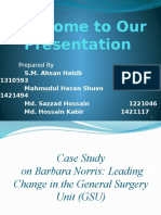 Case Study Report Presentation