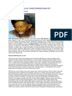 Biografi KH Hasyim Asy