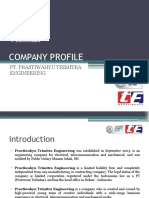 Presentasi Company Profile PTE - General 2013