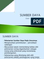 Sumber Daya PDF