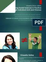 Vineeta Sinha -  Descentrando las ciencias sociales