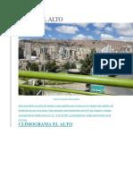 CLIMA El Alto