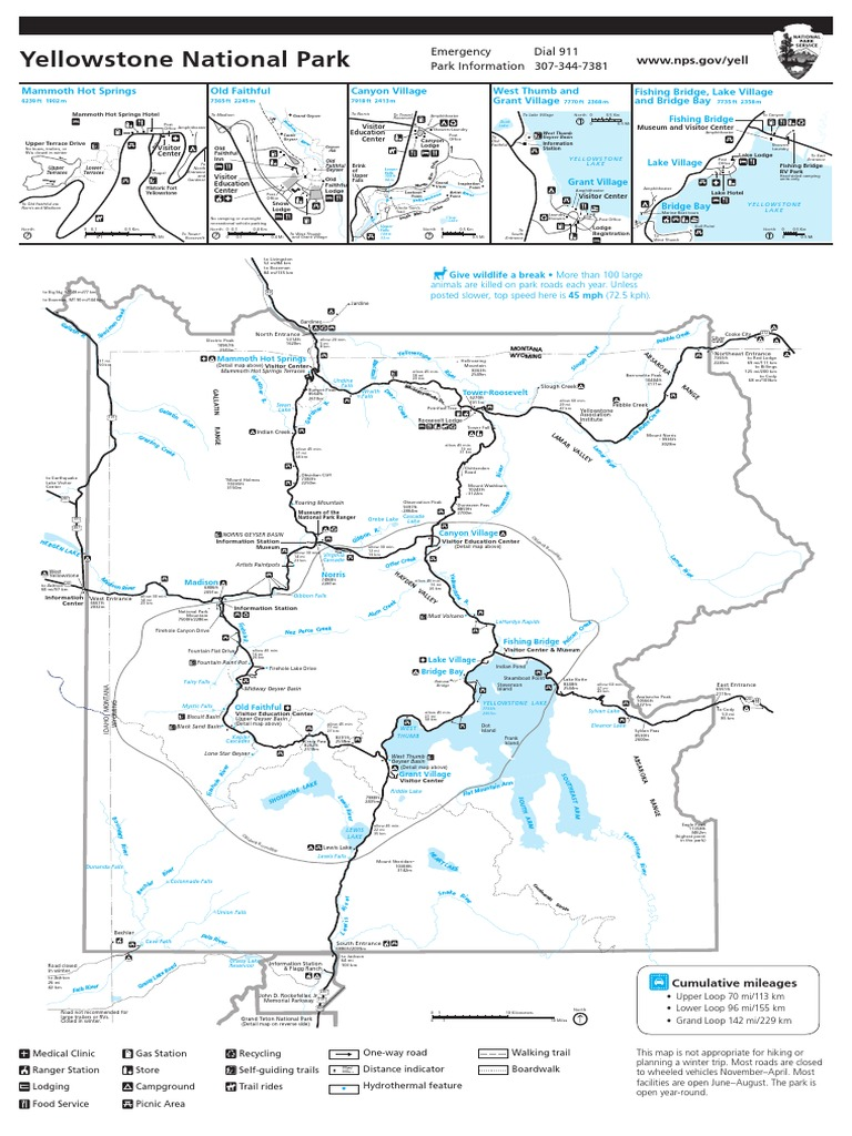 2014tearoffmappdf yellowstone national park camping publicscrutiny Image collections