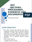 Audit Objectives Procedures Evidences and Documentation (1)