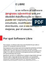 Software Libre (Diapositiva)