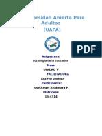 Tarea 5 de Sociologia de La Educacion Pineee