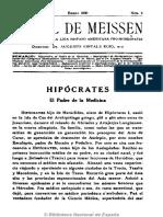 El Sol de Meissen. 1-1930
