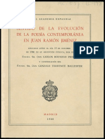 Juan Ramón Jiménez -Etapas, Por Carlos Bousoño