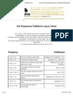 353 prophecies fulfilled in jesus christ