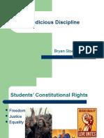judicious discipline pp