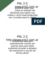 PNL 2 lenguaje