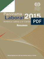 OIT Panorama Laboral 2015 Resumen