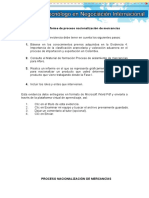 Evidencia 5 Informe de Proceso Nacionalización