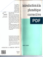 Introduction a La Phonetique Corrective