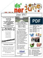 June 2017 Newsletter