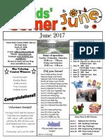 June 2017 Children's Newsletter
