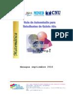 Guia Autoestudio Matematica 2017