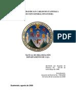 Manual de Organización de Caja Central