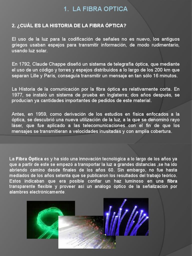 549994b600 La Fibra Optica
