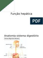 Análise função hepática