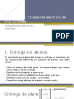 Diseño de La Instalación Electrica de Una Vivienda