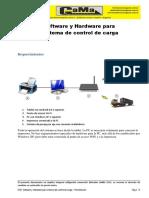 Sistema de Control de Carga Software